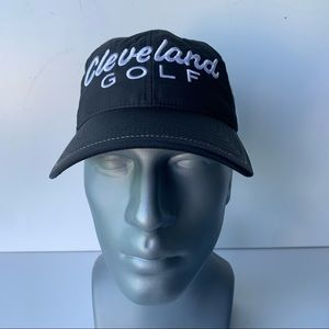 Cleveland Golf Black White Embroidery Hat Cap